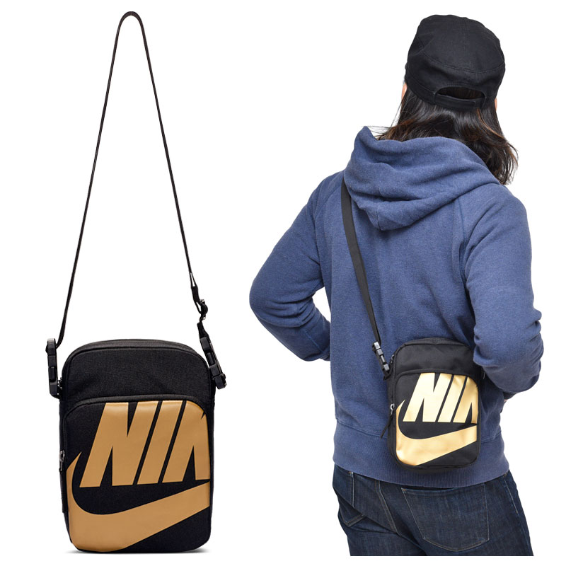 mínimo Decano Trascender  ripe: Nike bag NIKE heritage 2.0 graphic core Small item (4L ...