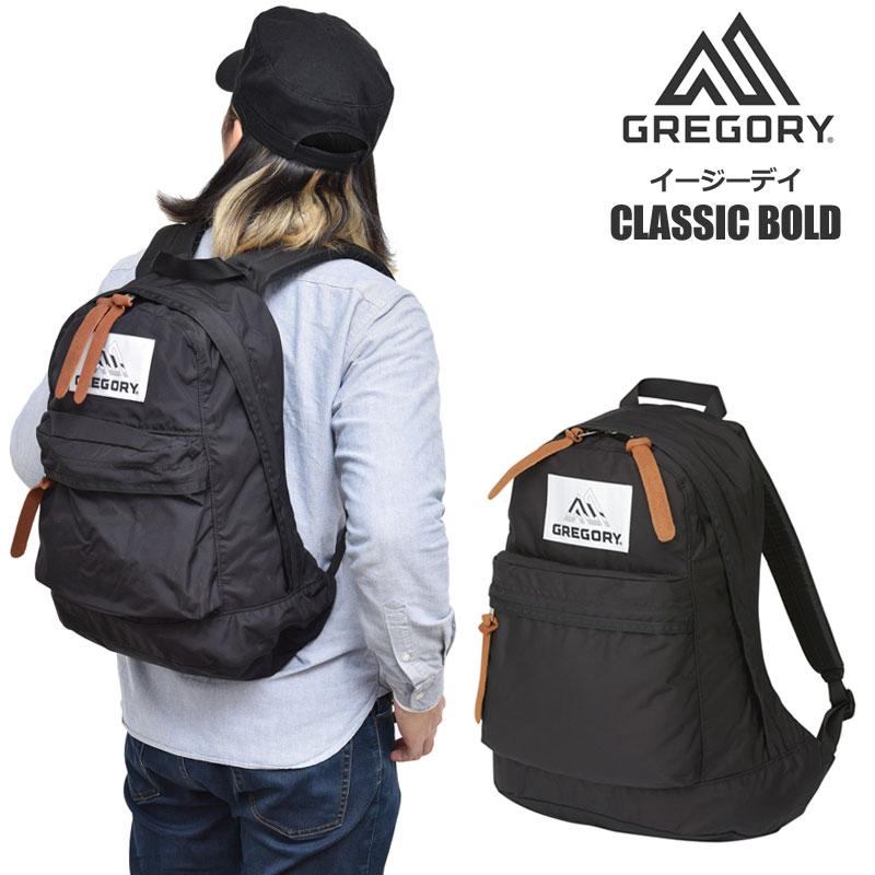 【正規取扱店】ロゴステッカー先着プレゼント グレゴリー リュック GREGORY イージーデイ ボールド(20L)(ブラック)EASYDAY CLASSIC BOLD メンズ レディース【鞄】 bpk 2002ripe