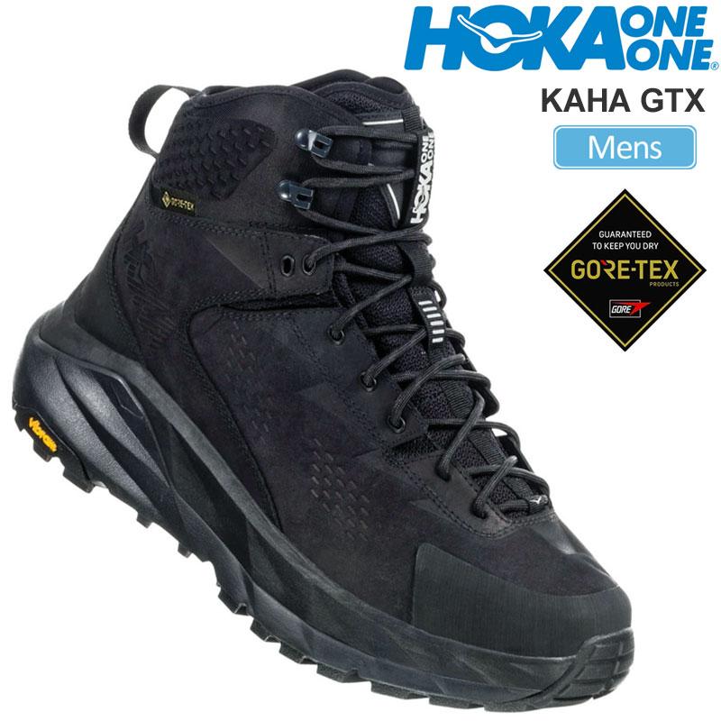 【正規取扱店】ホカオネオネ スニーカー HOKA ONE ONE カハ ゴアテックス KAHA GTX(ブラック ファントム)(112030 26-28cm)メンズ【靴】 snk 2001ripe