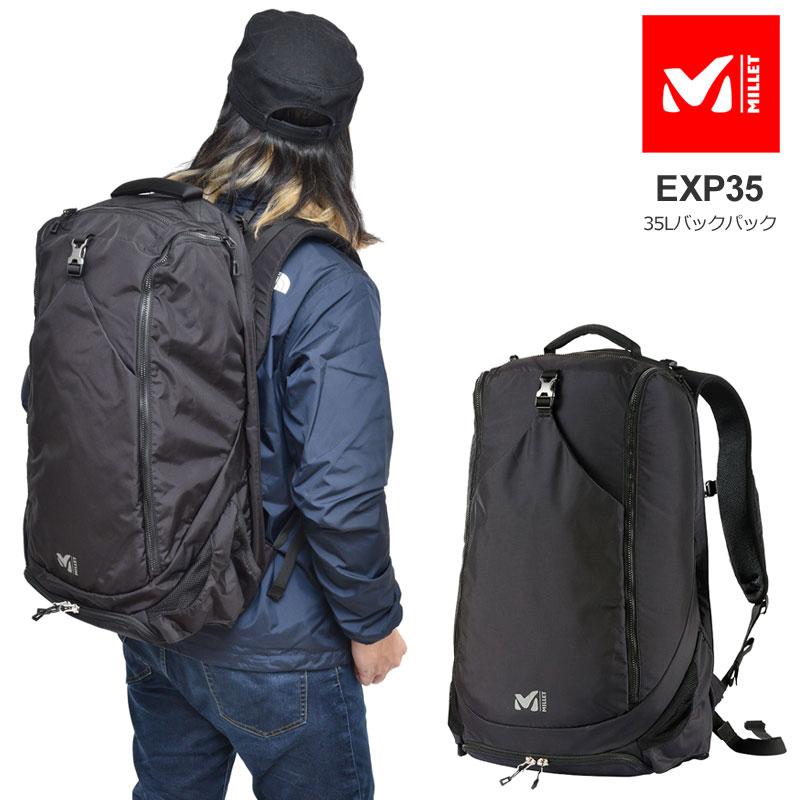 【正規取扱店】ミレー MILLET バッグ リュック 大容量 メンズ レディース EXP35(35L) MIS0694【鞄】bpk 2003ripe