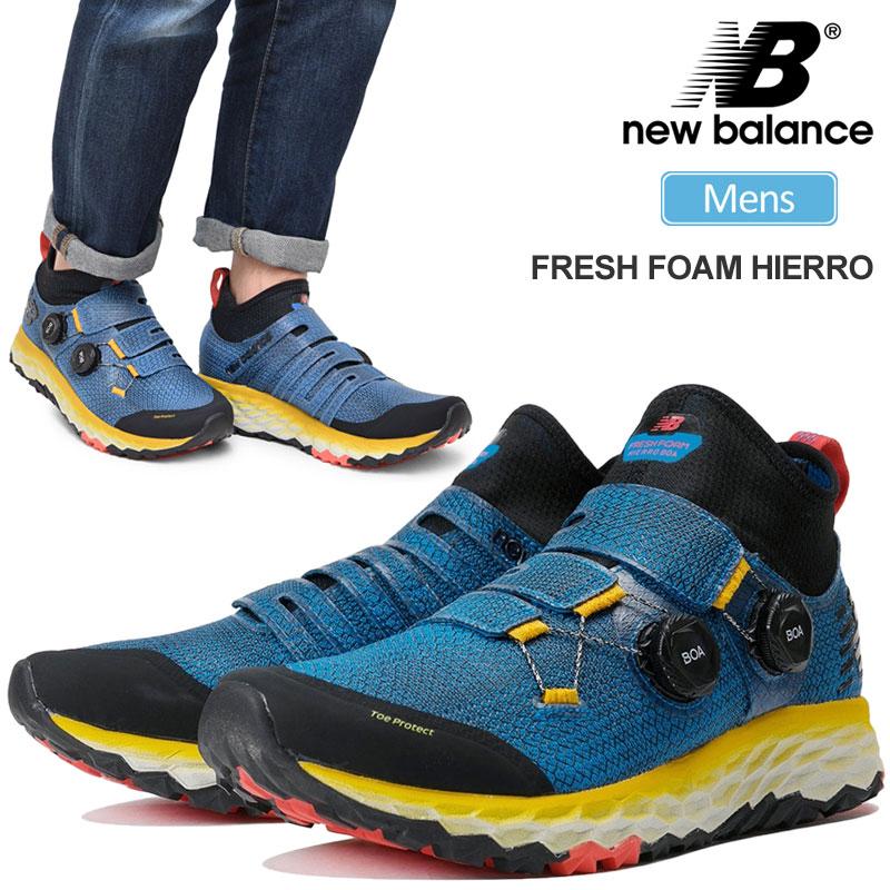 【正規取扱店】ニューバランス スニーカー new balance フレッシュフォームヒエロ(ブルー)(MTHBOABY 26.5-28cm)FRESH FOAM HIERRO メンズ【靴】 snk 2001ripe