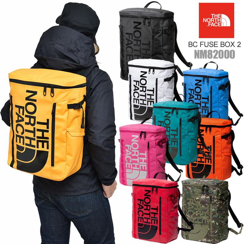 【正規取扱店】ノースフェイス スクエアリュック THE NORTH FACE BCヒューズボックス2(30L)(全9色)(NM82000)BC FUSEBOX II メンズ レディース【鞄】 20SS bpk 2001ripe