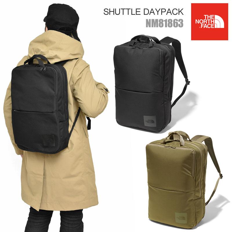 【正規取扱店】ノースフェイス リュック THE NORTH FACE シャトルデイパック(25L)(全2色)(NM81863)SHUTTLE DAYPACK メンズ レディース【鞄】 20SS bpk bns 2001ripe
