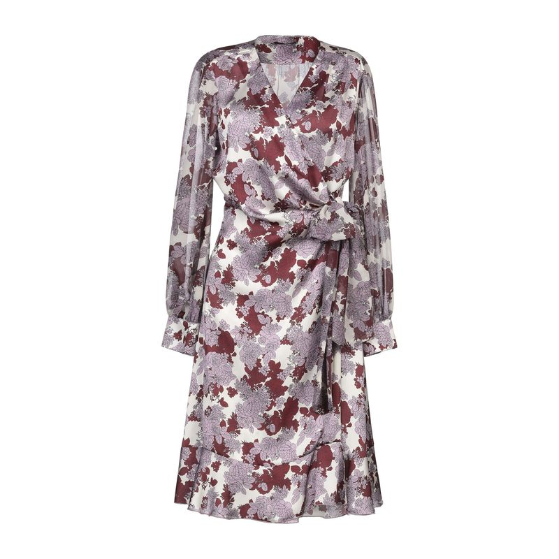 Ex Branded Pink Confetti Capped Sleeve Shift Dress Size 10 18