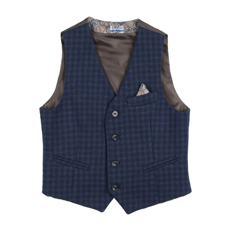 Y-CL {ギフトラッピング} 売店 キッズ 毎日続々入荷 子供服 ベスト ブルー トップス ジレ