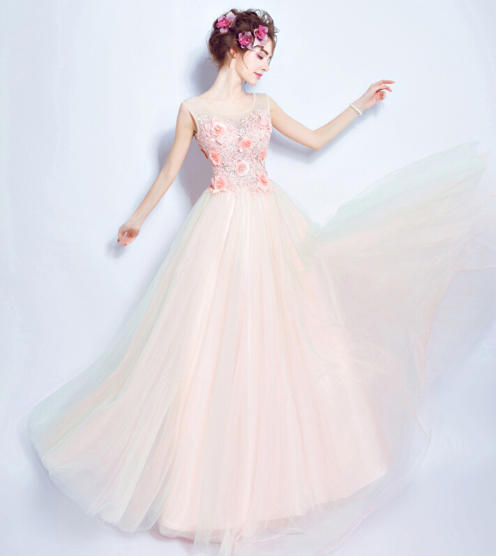 5640b039c ... Pearl Color Wedding Dress: Riricollection: Wedding Dress Colored  Racesless Spring