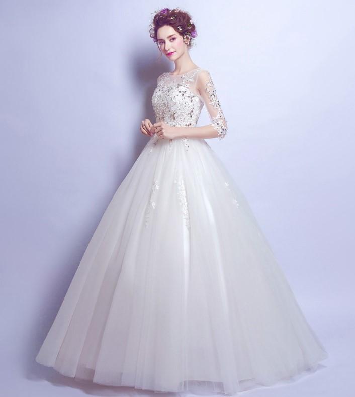 riricollection | Rakuten Global Market: Wedding dress stone flower ...