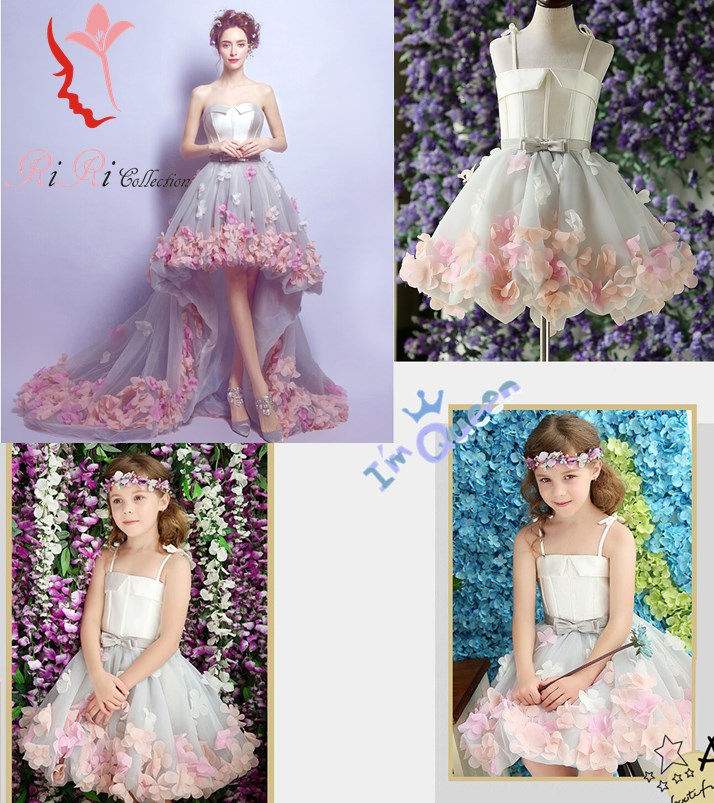 Wedding Gown For Parents: Riricollection: Wedding Dress Flower Flower Parent And