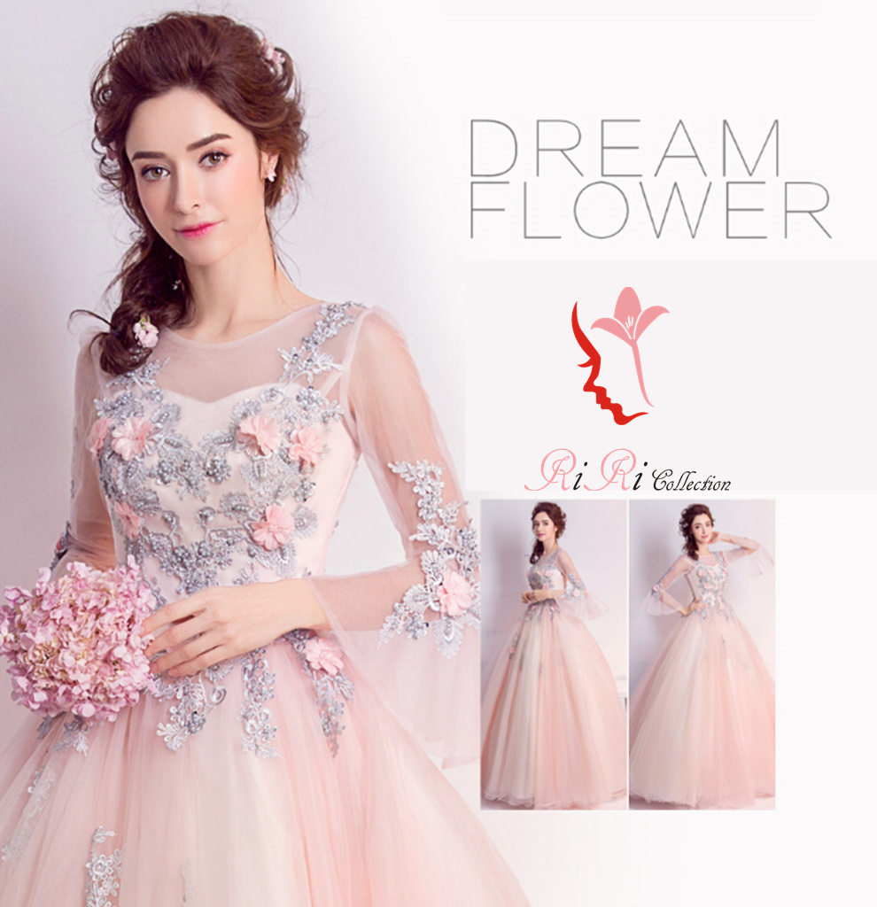 Riricollection rakuten global market pink dress floral design all the dresses of our store send it after inspection inspection of a meter in japan when you are missing please refer about delivery date and size ombrellifo Images
