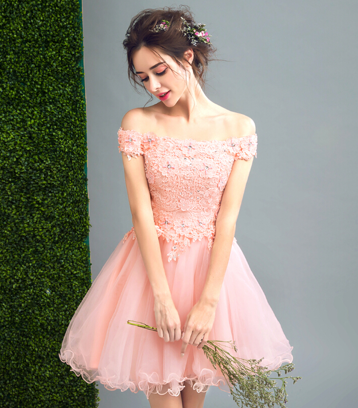 riricollection: Pink dress floral design wedding ceremony banquet ...