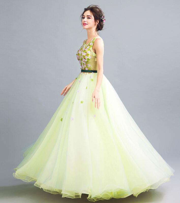 riricollection | Rakuten Global Market: Refined green dress floral ...