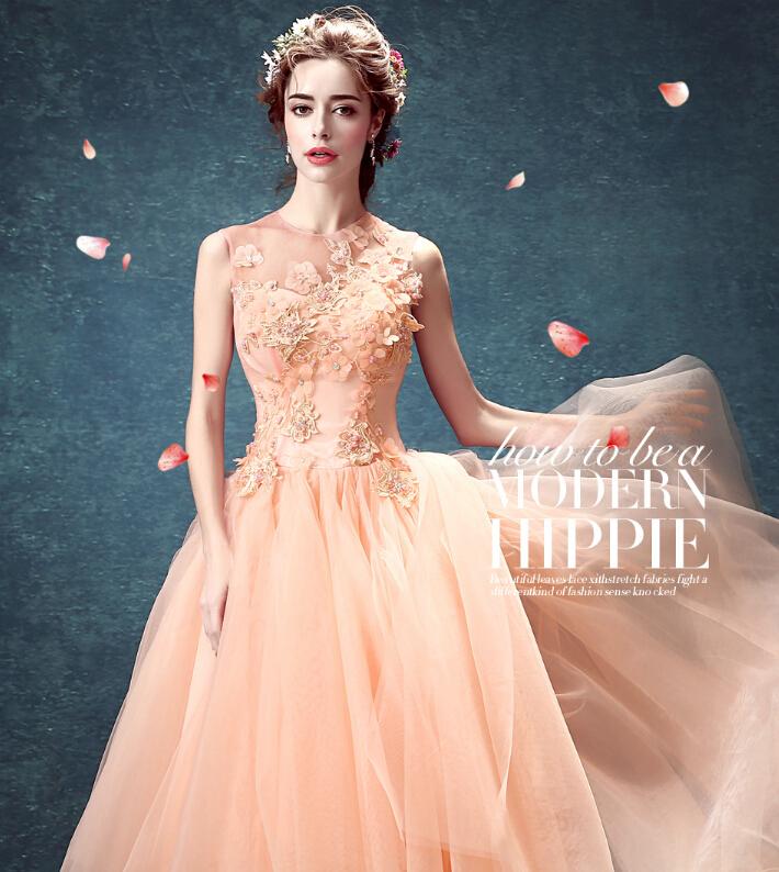 c59528d544a68 カラードレス プリンセスライン  ウェディングドレス 結婚式 フラワー パーティードレス  演奏会