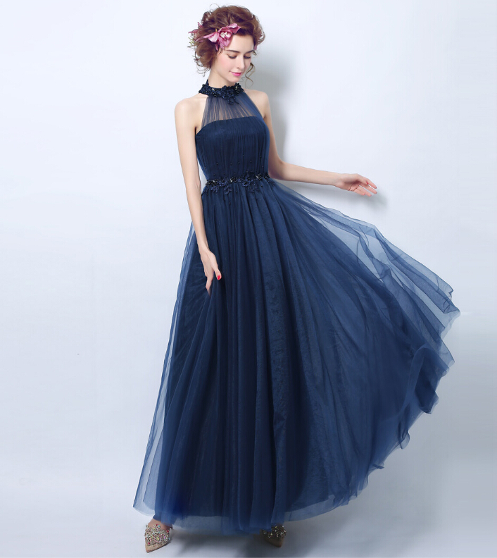 Riricollection: Royal Blue Dress Colored Racesless Wedding