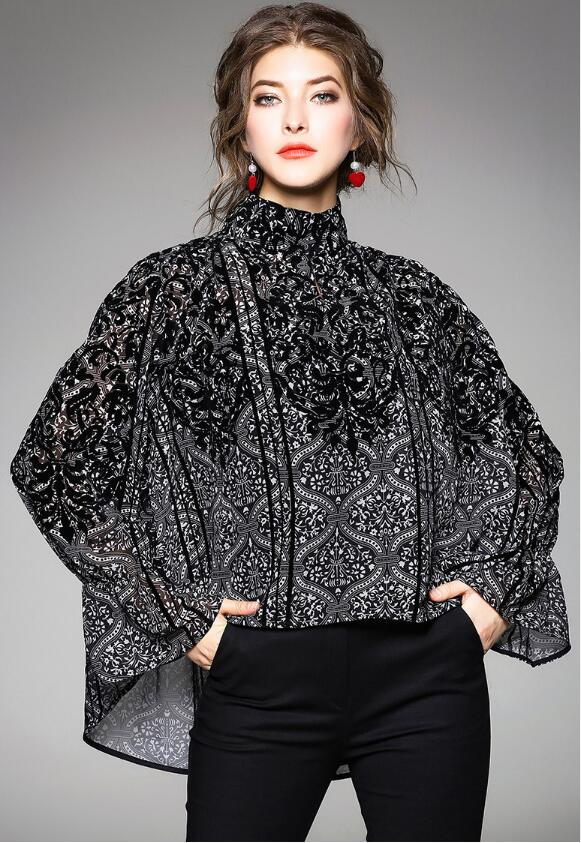 Riricollection Tops Figure Cover Spring Long Sleeves Irregularity