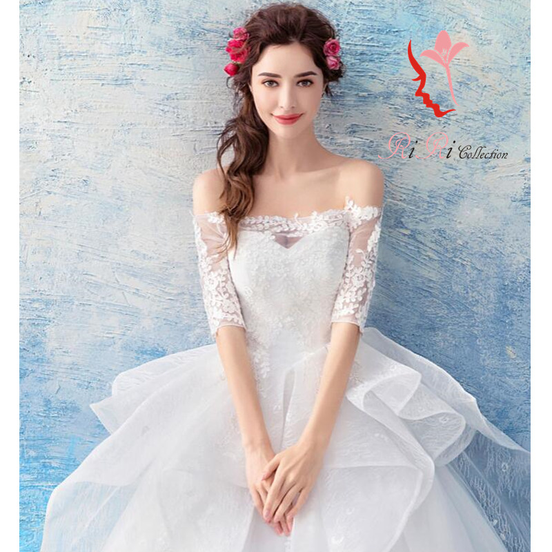 riricollection | Rakuten Global Market: Wedding dress white race ...