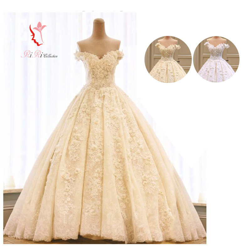 Gold Wedding Dresses.2 5 Meters Of High Quality Wedding Dress 2 Color Champagne Gold White Long Trains Laceup Go Japanese Agricultural Standards Off Shoulder Angel Refined