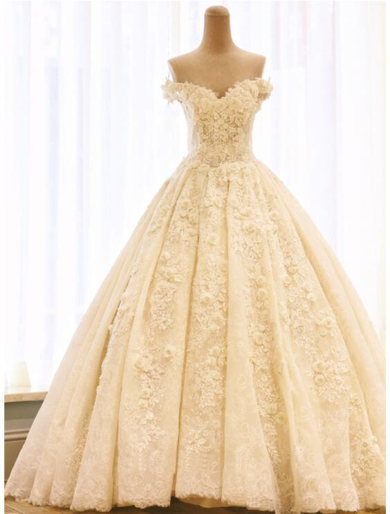 Riricollection 2 5 Meters Of High Quality Wedding Dress 2 Color
