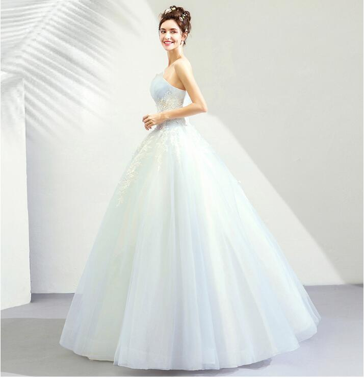 Wedding Gowns Ri: Riricollection: 2019 Latest Colored Racesless Refined