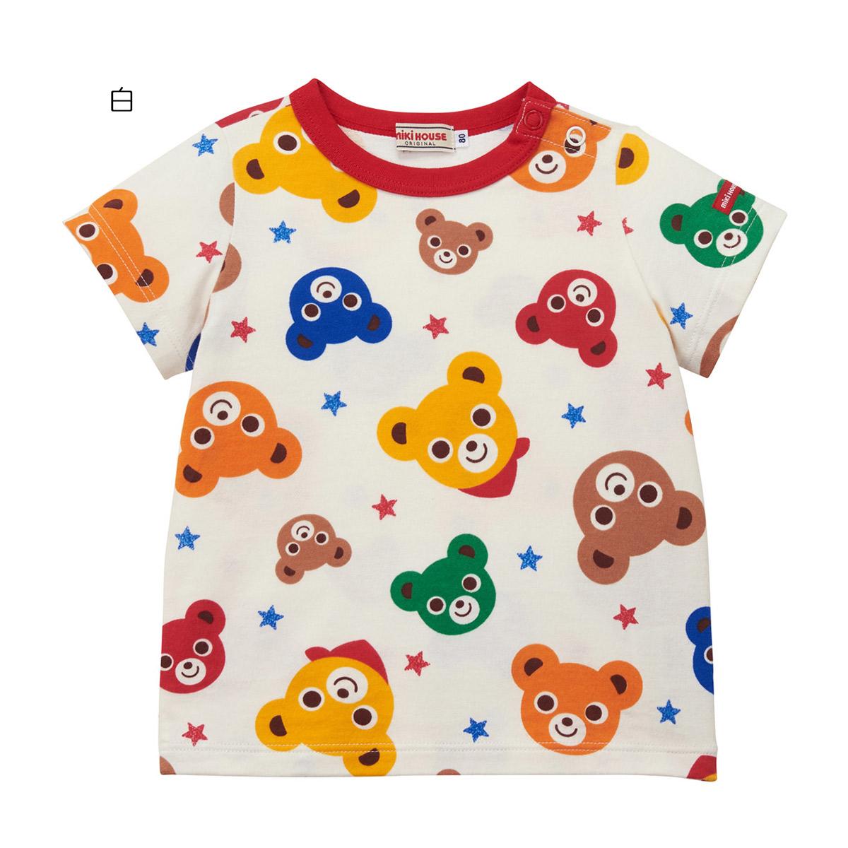 〇 ミキハウス Tシャツ5200 クリアランスsale 期間限定 980円以上で送料無料 商い 3 国内