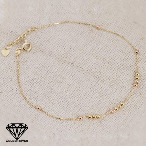 1de9cdea960 K18 Necklace GOLDENRIVER: Anklet gold Lady's K18 18-karat gold 18k ...