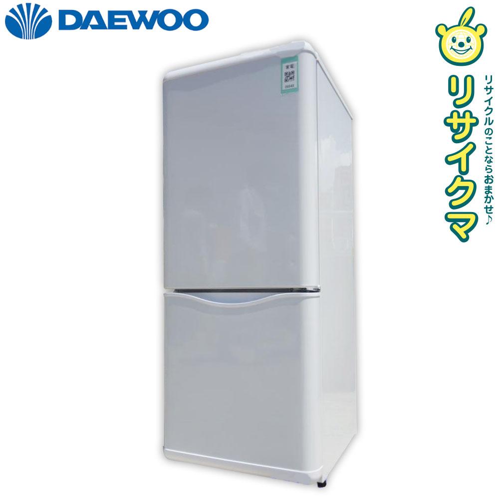 【中古】R▼大宇 冷蔵庫 150L 2016年 2ドア 大容量 ホワイト DR-B15EW (06648)