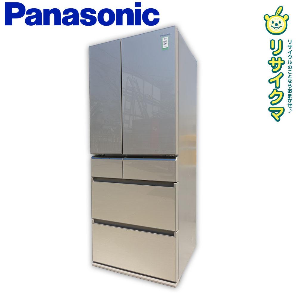 【中古】M▽パナソニック 冷蔵庫 608L 2014年 2014年 6ドア NR-F610PV 観音 エコナビ搭載 608L ガラスドア NR-F610PV (11707), AQUA NAIL/アクアネイル:7e72f322 --- officewill.xsrv.jp