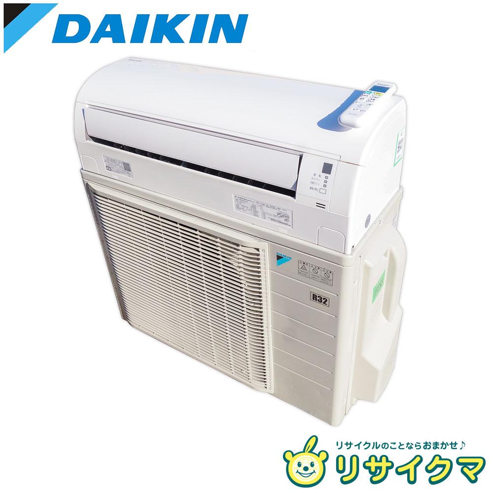 【中古】R▼ダイキン ルームエアコン 2017年 4.0kw ~16畳 室外機電源 単相200v F40UTEV (14955)
