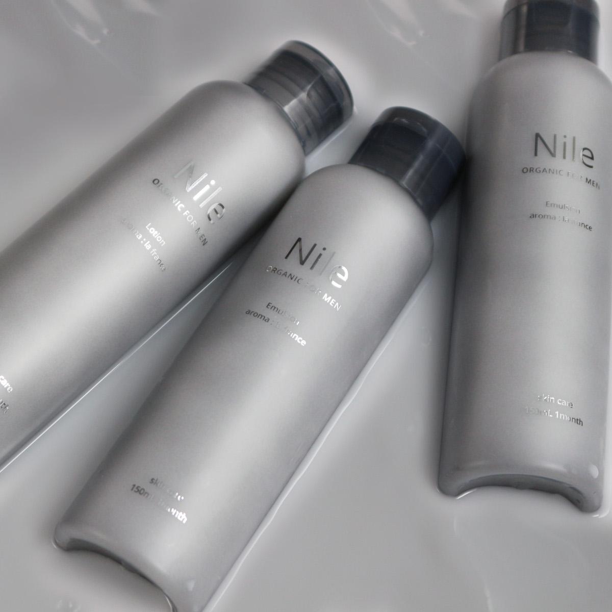 Nile 乳液 保湿 メンズ セラミド アロエ配合 敏感 半額 幸せラボ スキンケア 乾燥肌 送料無料 潤い ナイル アウトレット フェイスオイル150mL