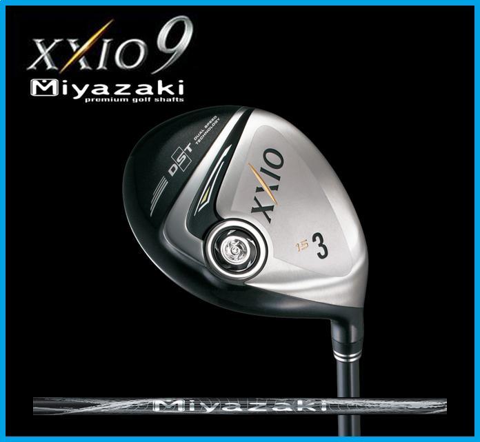 ダンロップ XXIO9 ゼクシオ9 Miyazaki Model フェアウェイウッド Miyazaki Melas ミヤザキカーボンシャフト