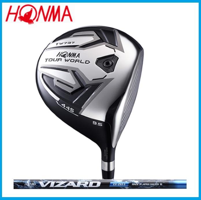☆ホンマ ツアーワールド TW737 FW フェアウェイウッド VIZARD EX-Z カーボンシャフト ゴルフクラブ