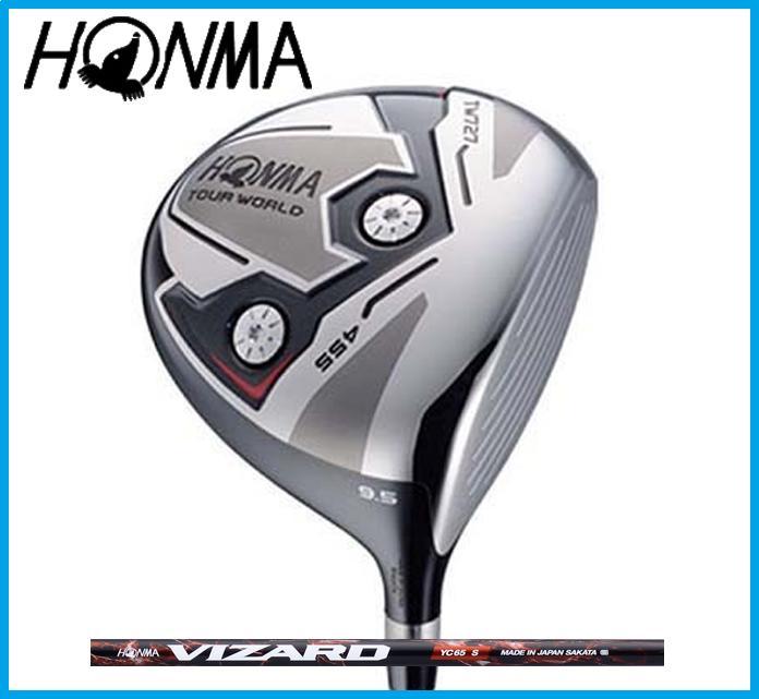 本間ゴルフ HONMA TOUR WORLD ホンマ ツアーワールド TW727 455 ドライバー VIZARD YC カーボンシャフト