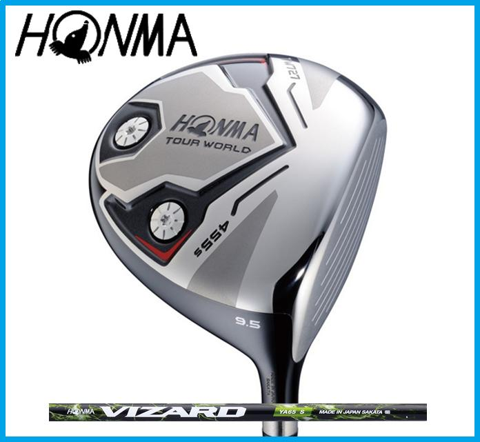 本間ゴルフ HONMA TOUR WORLD ホンマ ツアーワールド TW727 455s ドライバー VIZARD YA カーボンシャフト
