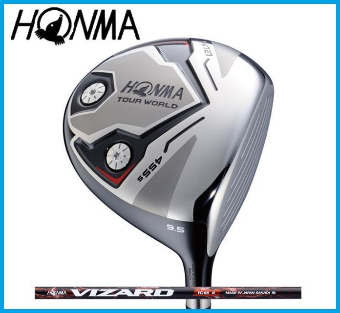 本間ゴルフ HONMA TOUR WORLD ホンマ ツアーワールド TW727 455s ドライバー VIZARD YC カーボンシャフト