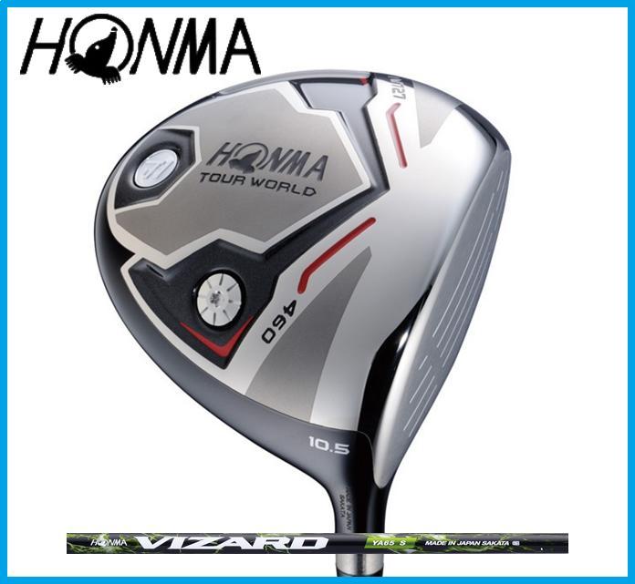本間ゴルフ HONMA TOUR WORLD ホンマ ツアーワールド TW727 460 ドライバー VIZARD YA カーボンシャフト