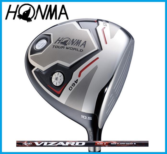 本間ゴルフ HONMA TOUR WORLD ホンマ ツアーワールド TW727 460 ドライバー VIZARD YC カーボンシャフト