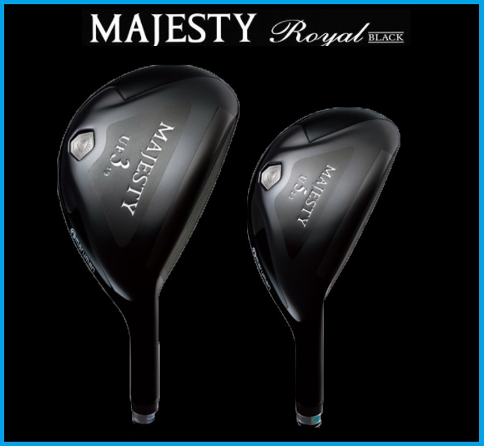 ☆2014年モデル マルマン マジェスティロイヤル ブラック ユーティリティ フェアウェイウッド & ユーティリティ MAJESTY LV510 カーボンシャフトMAJESTY ROYAL BLACK UTILITY FAIRWAY WOOD&UTILITY