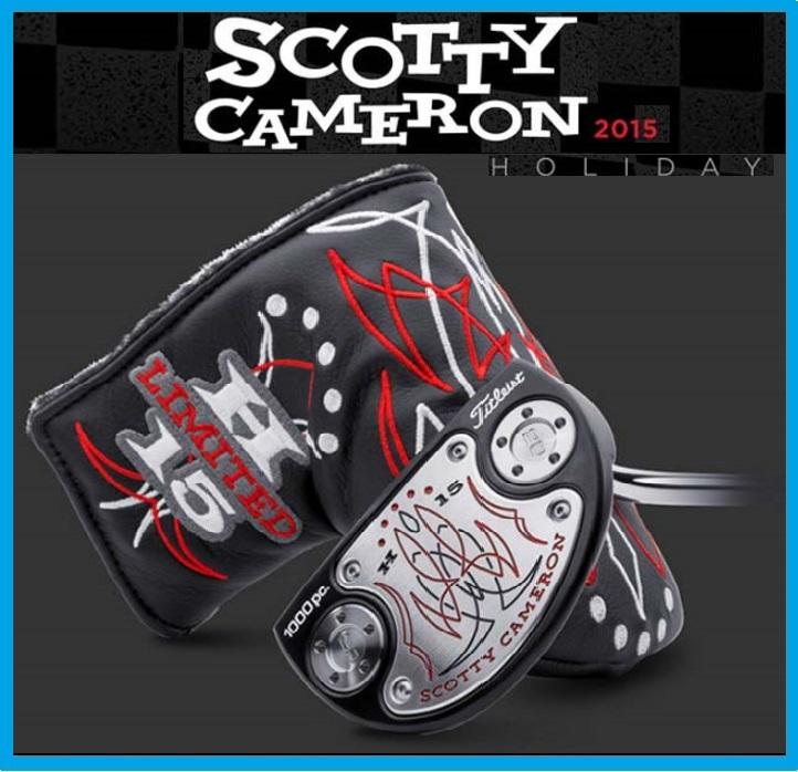 ☆限定 2015年モデル SCOTTY CAMERON ROUNDBACK-H15 スコッティキャメロン 2015 HORIDAY ホリデー ラウンドバック