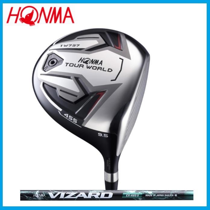 ☆ホンマ ゴルフ☆HONMA☆TOUR WORLD TW737 455 ドライバー VIZARD VIZARD EX-A カーボンシャフト