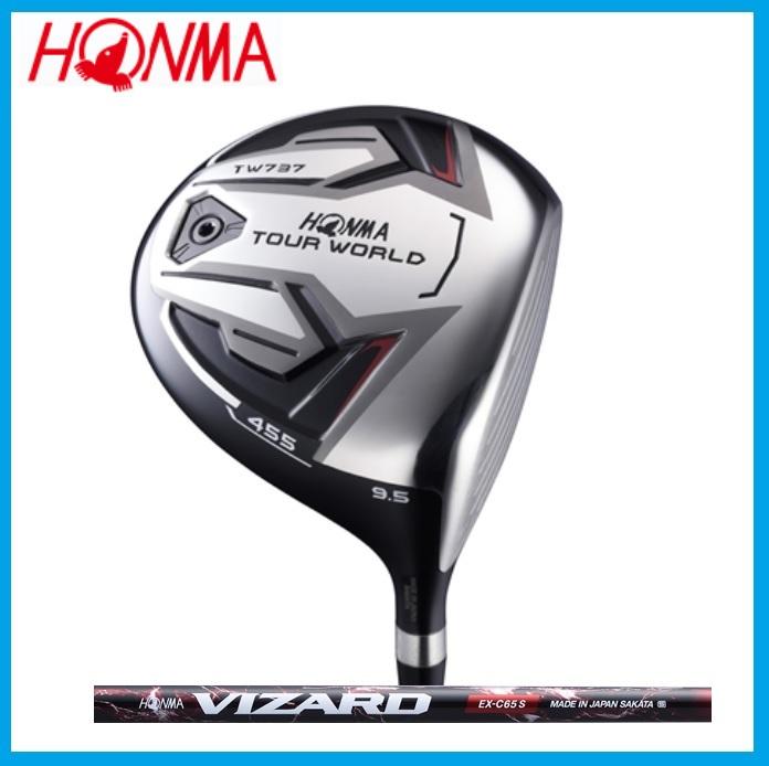 ☆ホンマ ゴルフ☆HONMA☆TOUR WORLD TW737 455 ドライバー VIZARD VIZARD EX-C カーボンシャフト