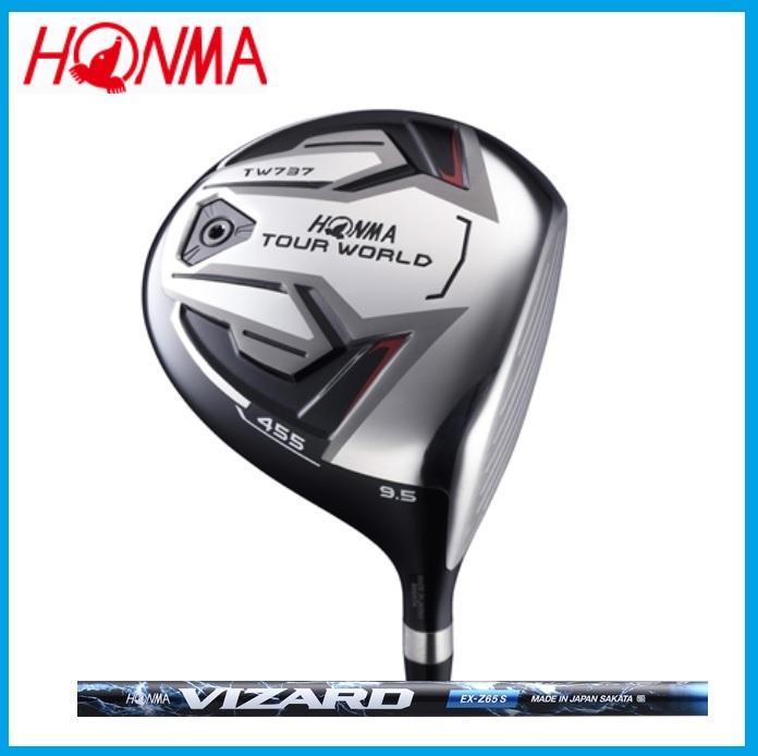 ☆ホンマ ゴルフ☆HONMA☆TOUR WORLD ツアーワールド TW737 455 ドライバー VIZARD VIZARD EX-Z カーボンシャフト