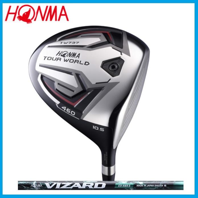 ☆ホンマ ゴルフ☆HONMA☆TOUR WORLD TW737 460 ドライバー VIZARD VIZARD EX-A カーボンシャフト