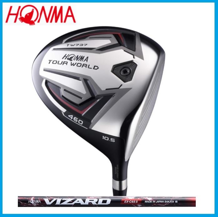 ☆ホンマ ゴルフ☆HONMA☆TOUR WORLD TW737 460 ドライバー VIZARD VIZARD EX-C カーボンシャフト
