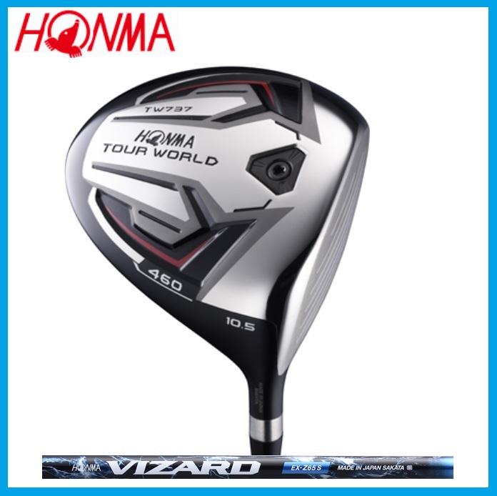 ☆ホンマ ゴルフ HONMA TOUR WORLD TW737 460 ドライバー VIZARD VIZARD EX-Z カーボンシャフト