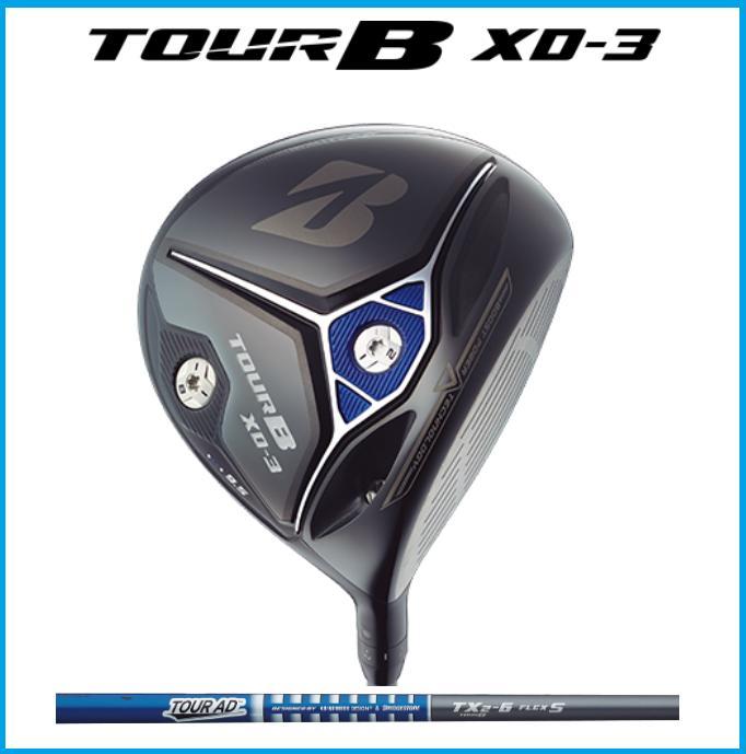 ☆2018年 ブリヂストン ゴルフ TOUR B ツアーB XD-3 ドライバー TOUR AD TX2-6 カーボン シャフト BRIDGESTONE