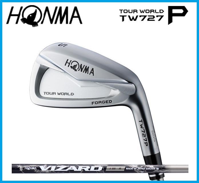 本間ゴルフ HONMA TOUR WORLD ホンマ ツアーワールド TW727P  アイアン6本セット(#5-10) VIZARD I55 カーボンシャフト