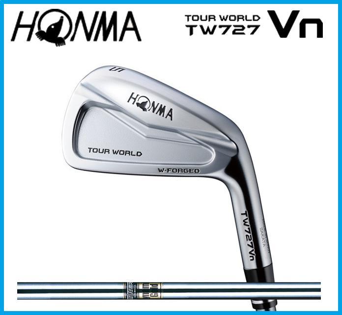 本間ゴルフ HONMA TOUR WORLD ホンマ ツアーワールド TW727Vn  アイアン6本セット(#5-10) Dynamic Gold スチールシャフト