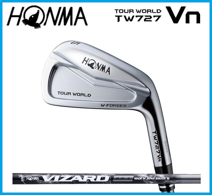 本間ゴルフ HONMA TOUR WORLD ホンマ ツアーワールド TW727Vn  アイアン6本セット(#5-10) VIZARD カーボンシャフト