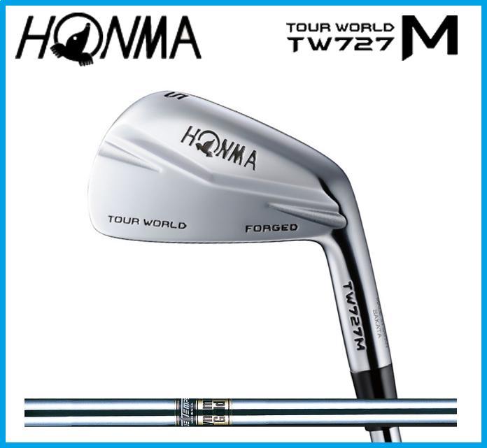 本間ゴルフ HONMA TOUR WORLD WORLD ホンマ ツアーワールド TW727M アイアン単品(#3,#4) 本間ゴルフ Dynamic TOUR Gold スチールシャフト, 佐野米店:2750b5eb --- sunward.msk.ru