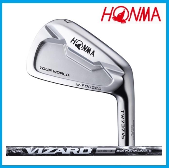 ☆ホンマ ゴルフ ツアーワールド TW737 Vs  アイアン 単品(#3、#4、#11) VIZARD IB85 IB95 IB105カーボンシャフト HONMA TOUR WORLD