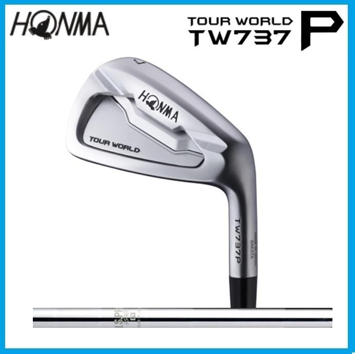 ☆ホンマ ツアーワールド HONMA TOUR WORLD TW 737P アイアン 6本セット(#5-10) NSPRO 950GH スチールシャフト